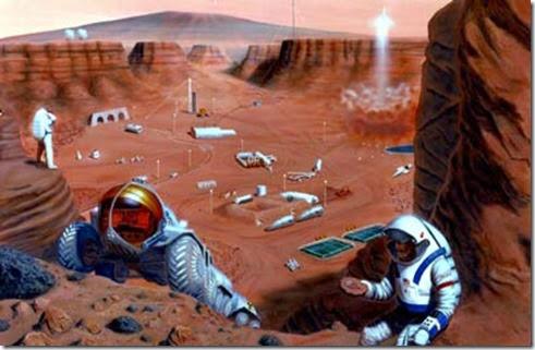 Colonias en otros planetas