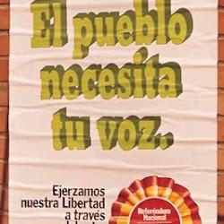 Cartel institucional para el Referundum sobre la Reforma política de 1976