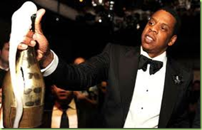 jay z popping the cristal
