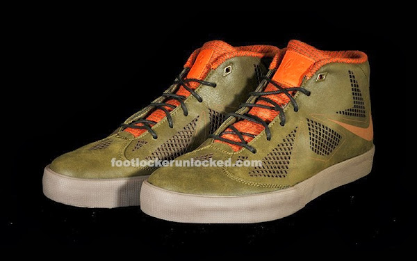 Sneaker Steal Nike LeBron X NSW Lifestyle 8220Dark Loden8221 for 80