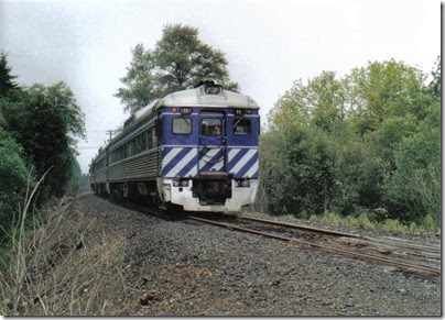 Lewis & Clark Explorer leaving Clatskanie, Oregon on September 24, 2005
