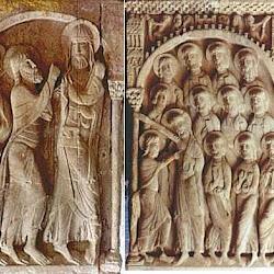 81 - Detalles de capiteles de Santo Domingo de Silos