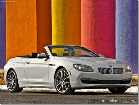 BMW 650i Convertible 4