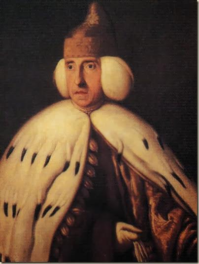 Portrait du doge Lodovico Manin