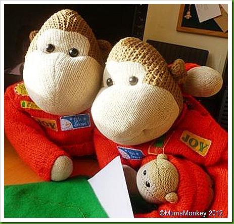 2012 Monkeys Letters to Santa