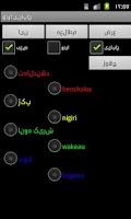 Screenshot of Japanese Urdu Dictionary