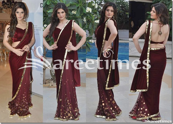 Zarine_Khan_Archana_Kochhar_Saree