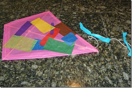 Making a Kite 4
