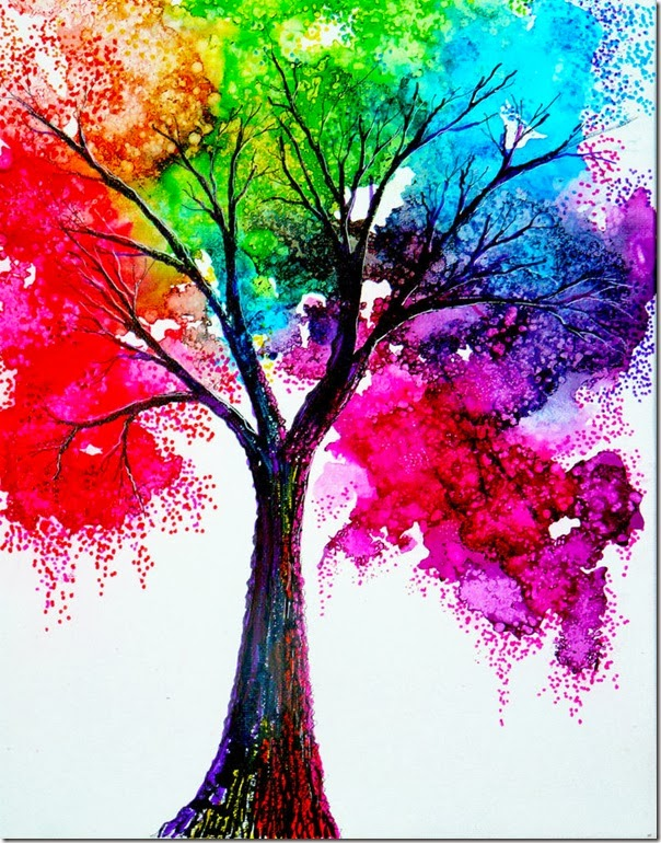 rainbow_tree_by_annmariebone-d5tdbe5
