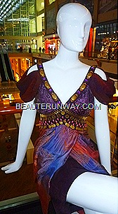 Alleira batik  cocktail dress Marina Bay Sands Singapore