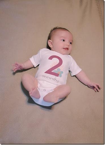 Mila 2 Months
