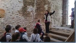Ξενάγηση στον βυζαντινό πύργο της λίμνης Κορώνειας