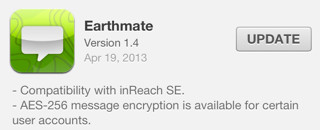 Earthmate version 1.4 for iOS