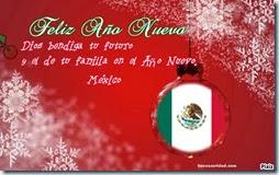 México Feliz año nuevo