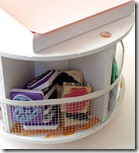 DIY-Spinning Wire-Spool Desk organizer