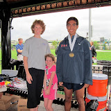 Third place 10K medal went to Alex Chavez (US).