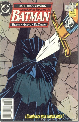 2012-06-12 - Batman 433 al 435 - Las muchas muertes de Batman