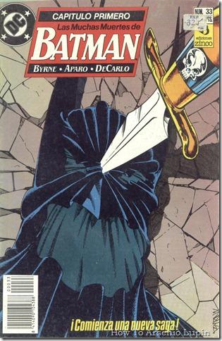 2012-06-12 - Batman 433 al 435 - Las muchas muertes de Batman