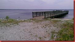 Pier at Lake Drummond