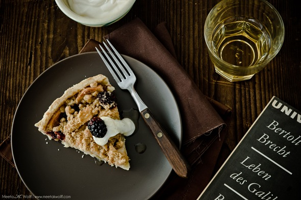 Honey Roasted Apple Crostata (0098) by Meeta K. Wolff