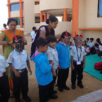 Pre Primary on 14th February 2014 GDA Harni