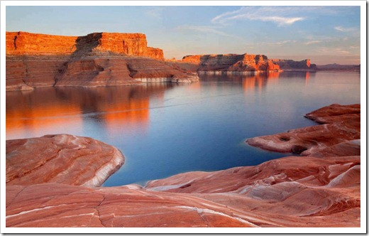 Padre Bay Lake Powell, USA
