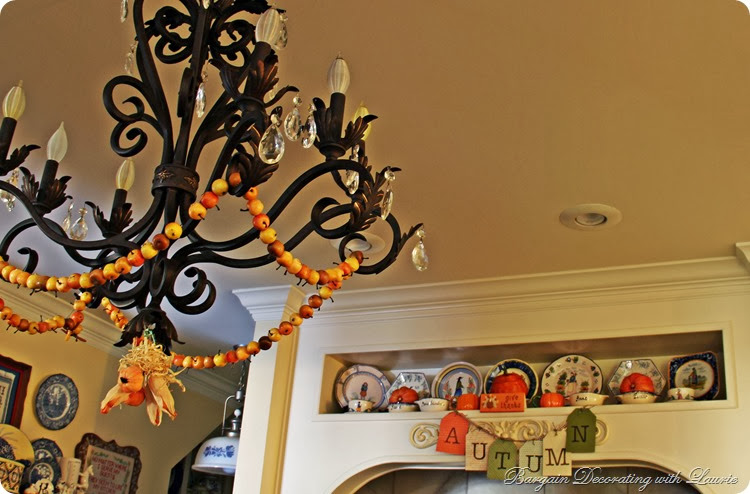 Fall Decor-Bargain Decorating with Laurie