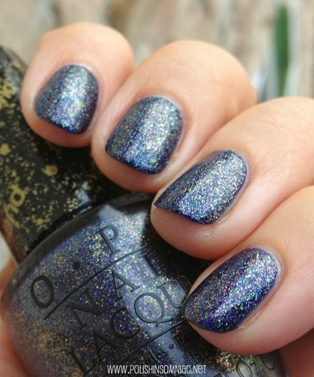 OPI Alcatraz... Rocks over Keeping Suzi at Bay
