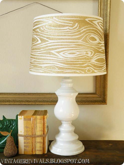Wood Grain Lampshade 030