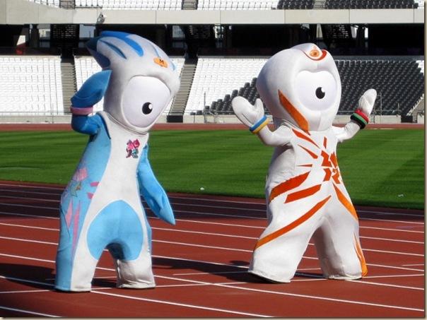 Mascotte des jeux Olympiques de Londres2012