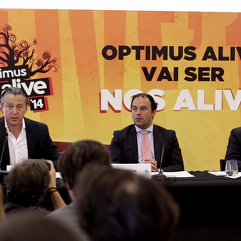 Optimus Alive '14 divulga todas as suas novidades em conferência de imprensa