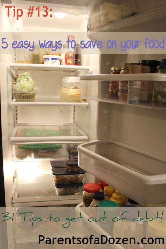 5 easy ways to save on your food