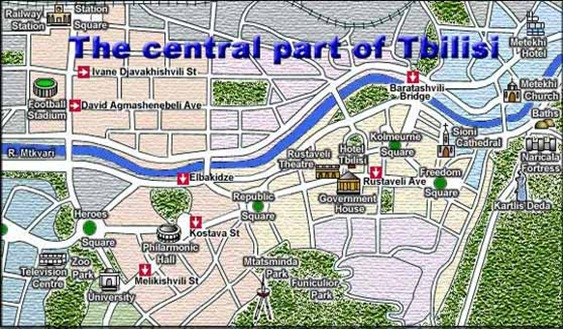 tbilisi map 2