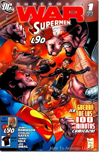 2011-08-22 - Superman - La Guerra de los Supermanes