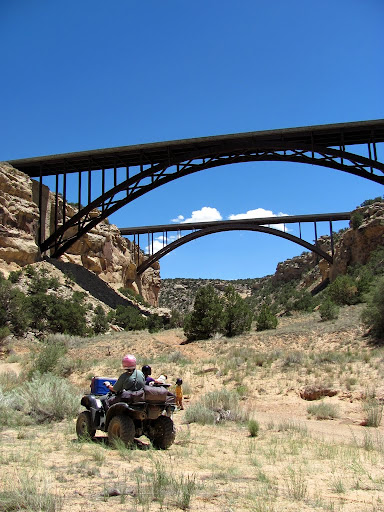 I-70 bridges over Eagle Canyon