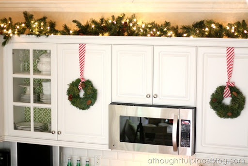 Christmas Décor {Kitchen Touches} - A Thoughtful Place