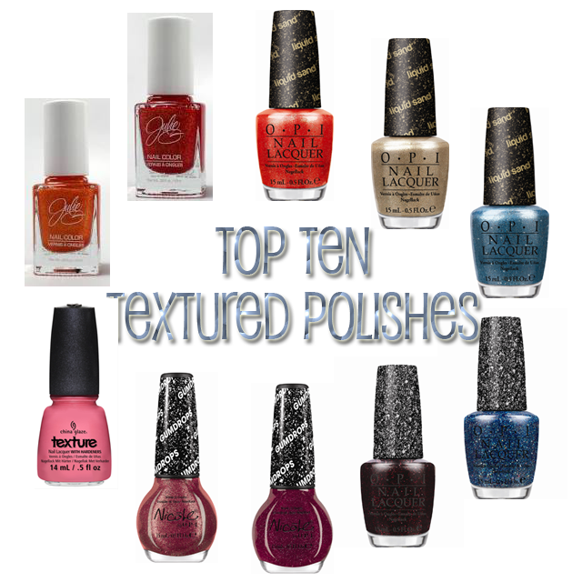 polish insomniac's top ten textured polishes