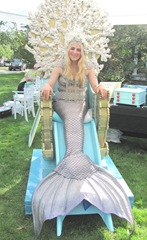 Cape Cod Columbus weekend 2012..apple festival giovanna mermaid2