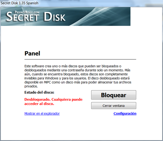 Soft de hoy; Secret Disk 1 - 3