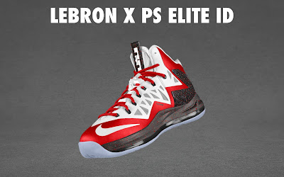 nike lebron 10 ps elite id options preview 1 15 NIKE LEBRON X PS ELITE Coming to Nike iD on April 23rd