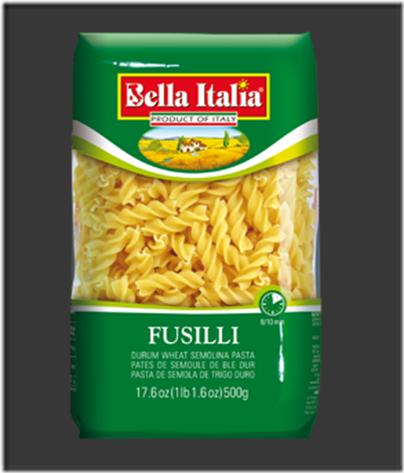 Bella Italia Fusili Pasta 02