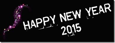Happy New Year 2015 Facebook Timeline Cover Photo