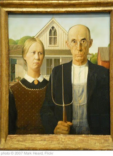 'American Gothic' photo (c) 2007, Mark Heard - license: http://creativecommons.org/licenses/by/2.0/