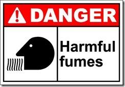 harmful fumes