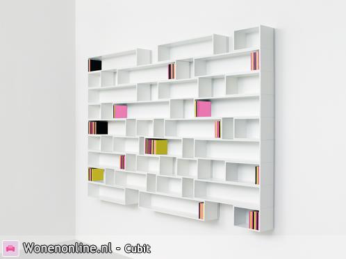 Wonenonline express your shelf modulair opbergsysteem for Boeken opbergsysteem