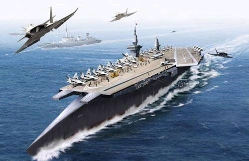 Eight aircraft carrier battle groups in China ambition to ...