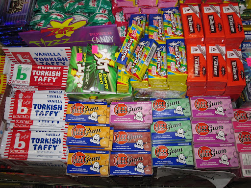 More items of gum.