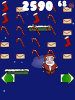 Screenshot of Doodle Santa - Christmas Jump