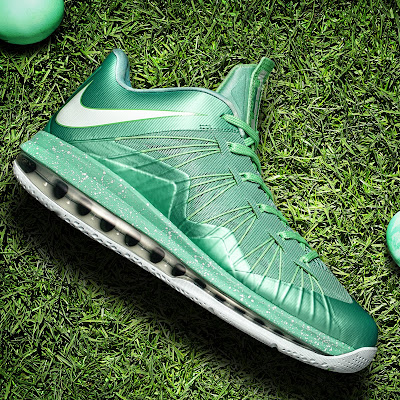 nike lebron 10 low gr green white 2 05 easter LEBRON X LOW, KOBE 8 and KD V   Nike Easter Collection