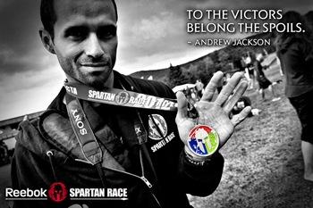 Reebok Spartan Race bling pic